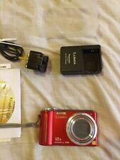 Panasonic Lumix DMC-ZS3 Red with Original Box