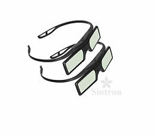 [Sintron]2X 3d lunettes actives for 2016 Panasonic 3D TV TX-65AX802B TX-55AS640B