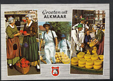 Netherlands Postcard - Groeten Uit Alkmaar    B2645