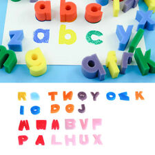 26 Letter Alphabet Shaped Sponge Set Children Kids Craft Painting Toy Education