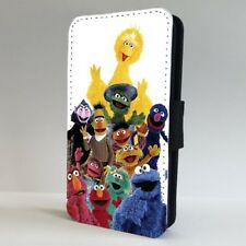 Sesame Street Characters Cookie Elmo FLIP PHONE CASE COVER for IPHONE SAMSUNG