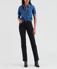 Levi's 314 Shaping Straight Women's Jeans - Ultra Black