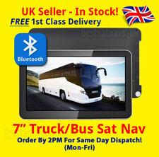 """BLUETOOTH 7"""" BUS Sat Nav - 2018 MAPS! - *BEST* UK + EU BUS, COACH Truck Sat Nav"""