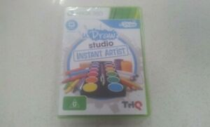 UDraw Studio Instant Artist Xbox 360 Game PAL Region (NEW & SEALED)