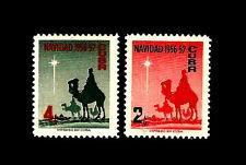 Caribian. Christmas. The Three Wise Men. 1956. Scott 562-563.  MNH. (BI#23)