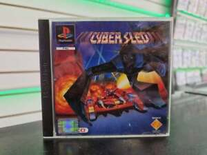 CYBER SLED PS1 PlayStation 1 Game RARE UK PAL USED