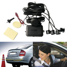 4 Parking Sensors Car Backup Reverse Radar Rearview Buzzer Sound Alarm BE