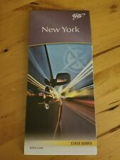 AAA NEW YORK State Travel Road Map Vacation Roadmap 2020-2021