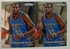 2014-15 PANINI PRIZM KEVIN DURANT NBA BASKETBALL BASE CARD #86 LOT(2)