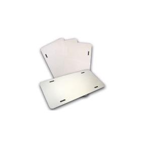 Blank White Aluminum Custom Personalize Plate Car Tag Vinyl Engrave UV Ink Print