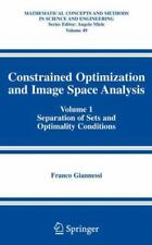 Constrained Optimization and Image Space Analysis: Volume 1:-ExLibrary