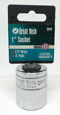 """New Great Neck 1"""" 6 Point 1/2"""" Drive Socket Sk40 Autozone Free Usa Shipping"""