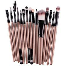 15 pcs/Sets Cosmetic Brush Eye Shadow Eyebrow Foundation Makeup Brushes Tool S1