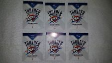 6 OKLAHOMA CITY OKC THUNDER 2017/18 POCKET SCHEDULES Westbrook,Melo,Paul George