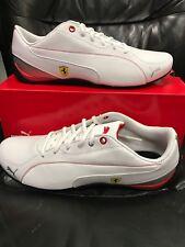 963e4e2704200f Mens PUMA Drift Cat 5 SF NM White Red Scuderia Ferrari Sneaker Shoes 9.5