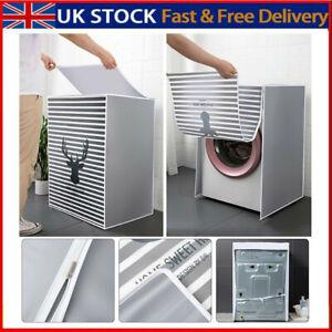 Waterproof Washing Machine Dustproof Zipper Cover Turbine PVC Roller Protecter