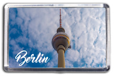 Berlin Famous City Fridge Magnet Collectable Design Germany TV Tower Fernsehturm