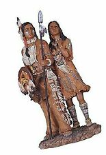StealStreet Native American Couple Collectible Indian Figurine Sculpture Statue