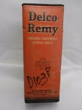 NOS Delco-Remy Points1871870 Set of 10 1937-58 Pontiac, Studebaker, Packard Etc.
