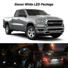 5 x White LED Interior Light Map Dome Cargo Bulbs For 2019 Ram 1500 Big Horn