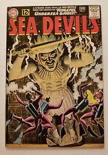 SEA DEVILS #5 (DC COMICS 1962) VF+ 8.5 SUPER HIGH GRADE SILVER AGE COMIC!