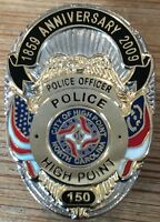 High Point Police Department - 150th Anniversary 1859-2009 - BADGE lapel pin