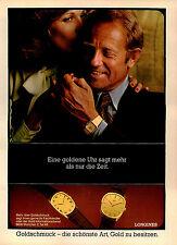 Longines - 1975-pubblicità con loghi pubblicità-vintage print ad-Publicidad Vintage
