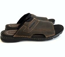 Rockport Sandals New! Men's Sz 12 Darwyn 2 Brown  Comfort Casual Slides H80304