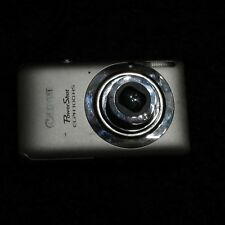 Canon PowerShot ELPH 100 HS Digital Camera Silver--Lens stuck-for repair/parts