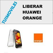 LIBERAR Huawei ORANGE dayton roya montecarlo P6 P7 G6 Mate Honor Y600 G610 G520