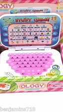 Children laptop Intelligence Learning game Electronic 5 Modes Gift Back 2 school