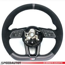 S-Line Abgeflacht Lenkrad Audi A3 A4 A5 Q2 8W0 Alcantara Lenkrad MFT DSG