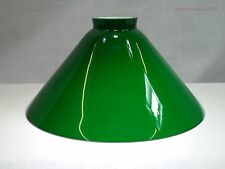 Ersatzglas Lampenschirm Glasschirm Schusterschirm grün Ø 245mm - Kragen Ø 60mm