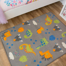 Bright Dinosaur Mats | Unisex Kids Bedroom Rug | Soft Reading Time Mats | XMAS