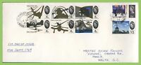 G.B. 1965 Battle of Britain set on First Day Cover, Field Post Office 61