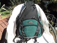 Olympia BP-3002 Hunter/Black Sling Nylon Backpack