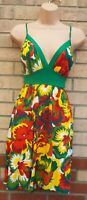 COLCCI MADE IN BRAZIL SURF SKATER TIE BACKLESS SEXY A LINE SKATER SUMMER DRESS S