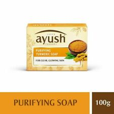 Lever Ayush Purifying Turmeric Soap | for clear,glowing skin|100g|free delivery