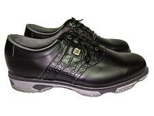Footjoy Dryjoys Tour Golf Shoes Black Men's Size 10 M, Style# 53678, MSRP $239
