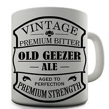 Old Geezer Ale Funny Design Novelty Gift Tea Coffee Office Mug