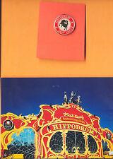 HIPPODROM PIN-OKTOBERFEST MÜNCHEN-ALTER ZELTPIN (PFERD rund)-PLUS POSTKARTE-TOP-