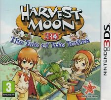 Harvest Moon The Tale of Two Towns [Used] Nintendo 3DS Game Used