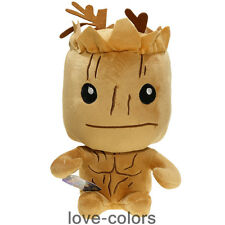 """8"""" New Movie Guardians of the Galaxy Groot Stuffed plush Soft Toy Doll Gift"""