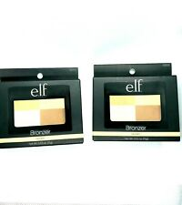 ELF 2 Pack e.l.f Bronzer Golden Quad .53 Oz Mirror Included 83703