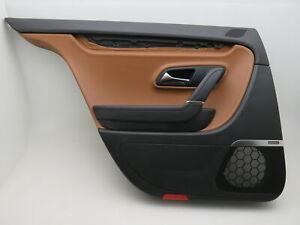 Original Door Panel Rear Left Leather Braun Dynaudio VW Passat Cc