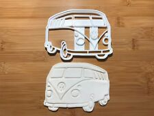 7.5 caravane VW glaçages pour gâteau personnalisé et décorée sur Comestibles Papier de Riz