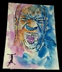 African-American Aceo (2.5x3.5) Original Painting
