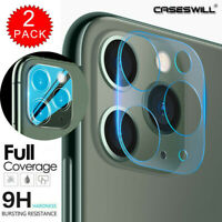 For iPhone 11 Pro Max FULL COVER Tempered Glass Camera Lens Screen Protective