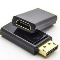 1080P HDTV PC Display Port DP Male to HDMI Female Adapter Converter F5X3