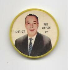 1961-62 SHIRRIFF SALADA FOODS HOCKEY COIN PHIL WATSON #19 Boston Bruins